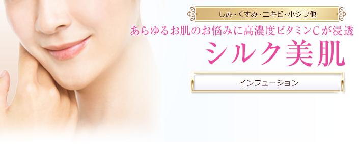 「品川スキンクリニック シルク美肌」の画像検索結果